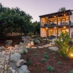 Dry Creeks + Boulder Placement by EcoLawn Santa Barbara