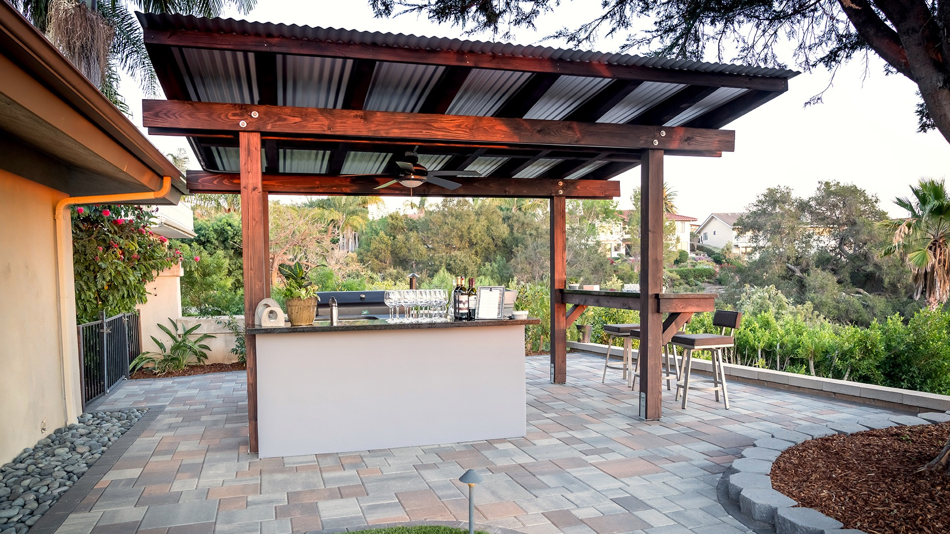 Construction services by EcoLawn Santa Barbara