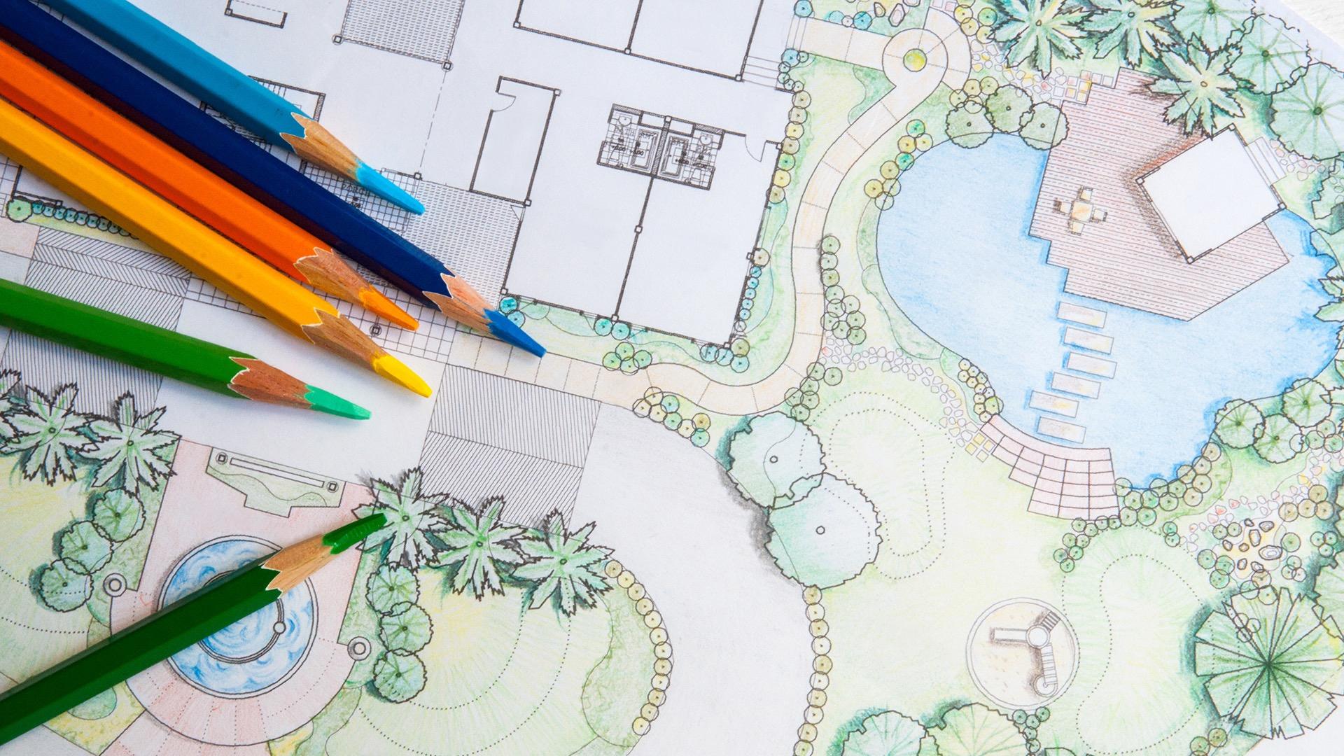 Design services by EcoLawn Santa Barbara