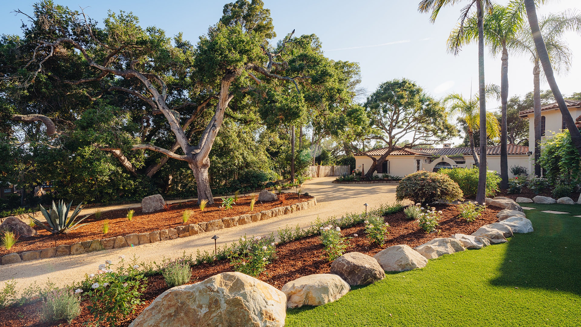 Landscaping services by EcoLawn Santa Barbara